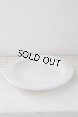 画像5: よしざわ窯 / 白い線刻楕円リム皿