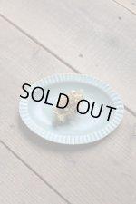 画像: よしざわ窯 / ブルーグレー線刻楕円リム皿