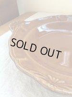 画像: よしざわ窯 / あめ色 持ち手のある西洋スープ皿