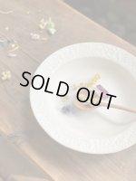 画像: よしざわ窯 / ホワイト ボタニカルのスープ皿
