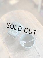 画像: よしざわ窯/ベルベットグリーン diamondpatternカップ